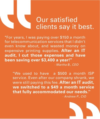 What our clients say about us